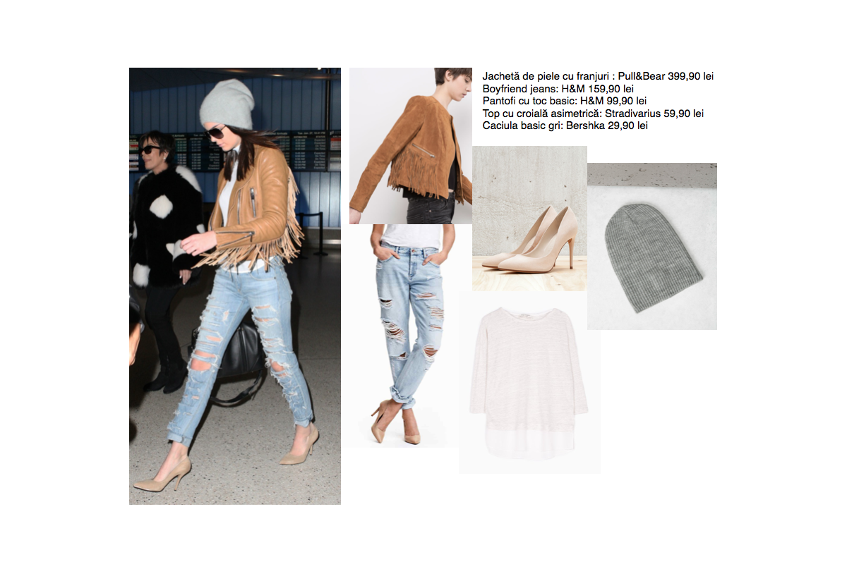 Kendall Jenner airport look