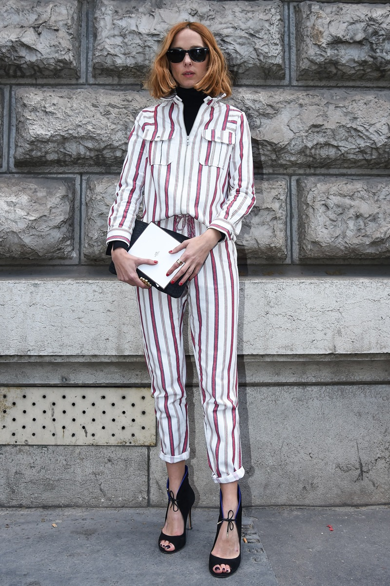 Candela Novembre , bei der Hermes während der Paris Fashion Week /070316   *** Candela Novembre , Streetstyle during the Hermes fashion show as part of Paris Fashion Week on march/ 070316 in Paris ***
