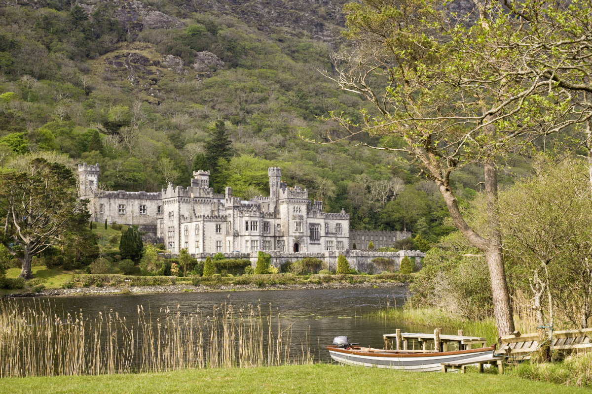 Ireland, Kylemore Abbey