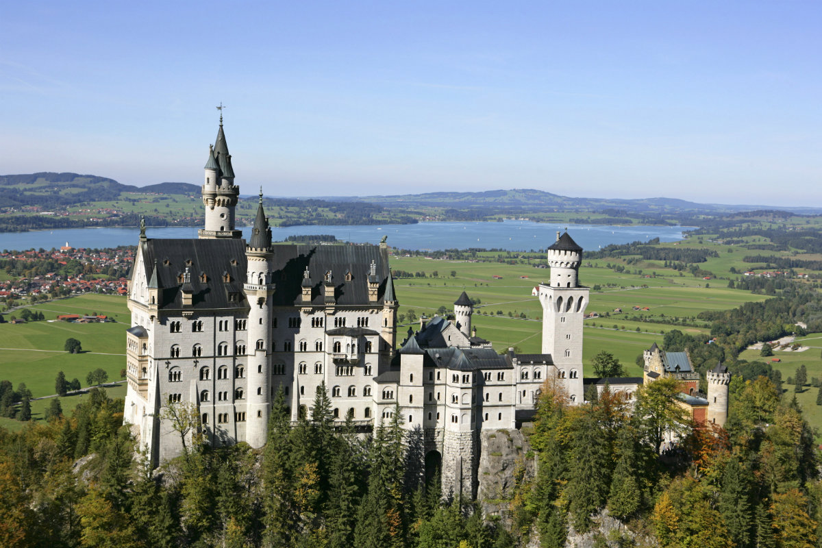 Neuschwanstein Castle, Germany,