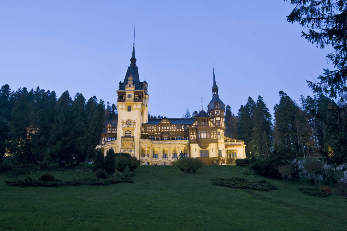 Peles Castle, situated in Sinaia