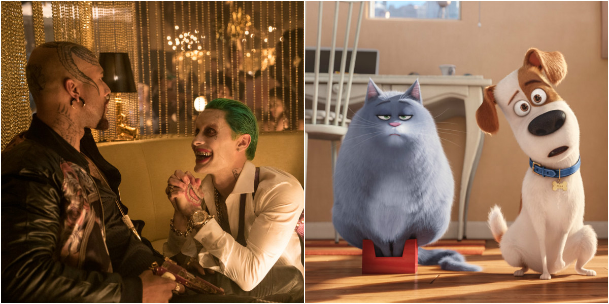 Suicide Squad & The Secret Life of Pets