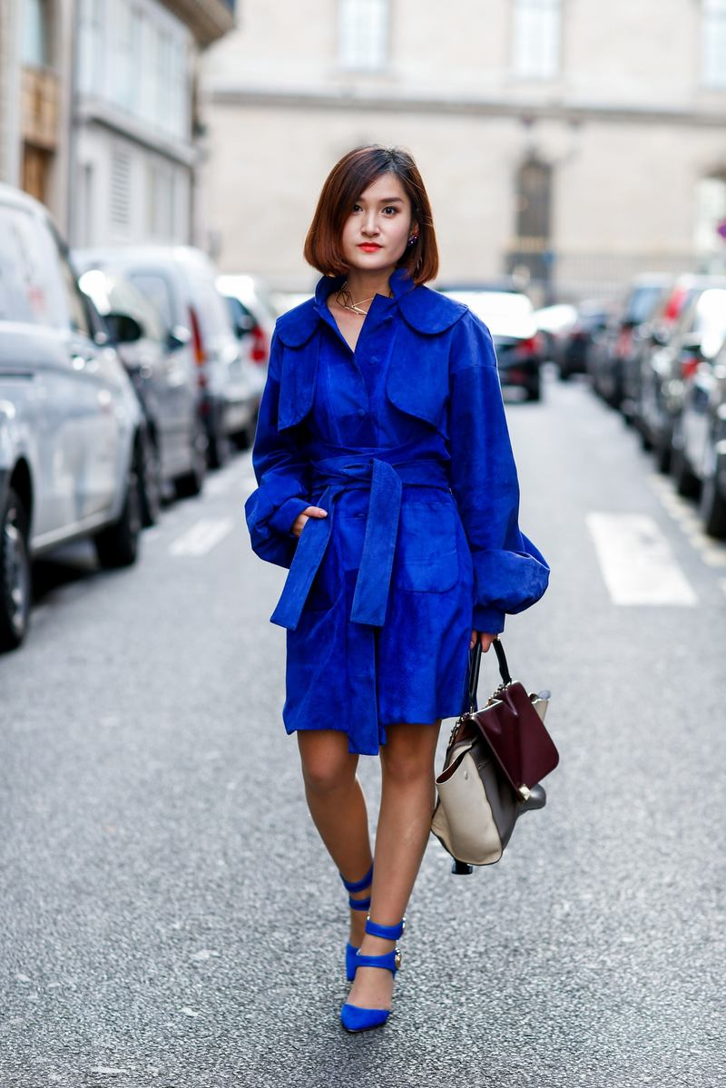 Paris Haute-Couture Fashion Week - Street Style