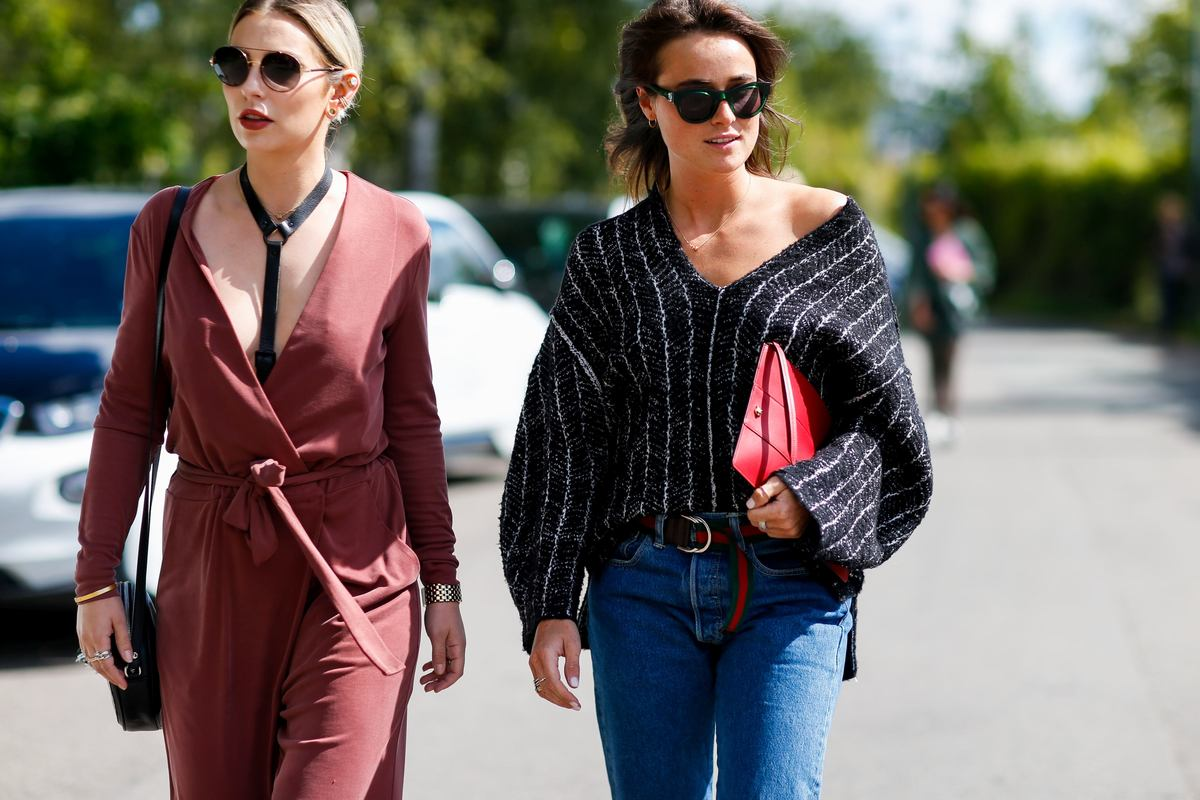 Street style, arriving at By Malene Birger Spring Summer 2017 show held at Otto Busses Vej, in Copenhagen, Denmark, on August 11th, 2016. Photo by Marie-Paola Bertrand-Hillion/ABACAPRESS.COM