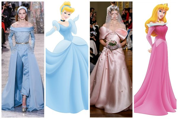 haute couture printese disney