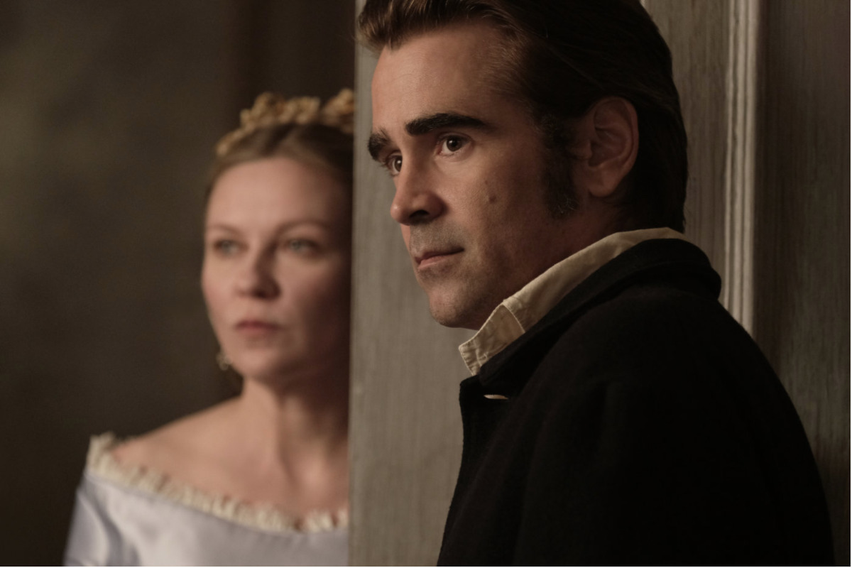 Kirsten Dunst și Colin Farrell în The Beguiled