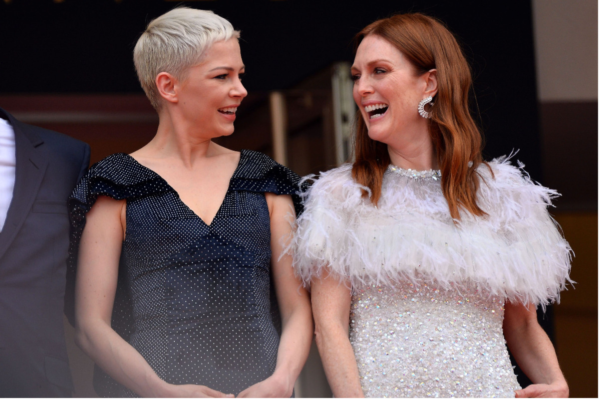 Michelle Williams & Julianne Moore la premiera filmului Wondertruck