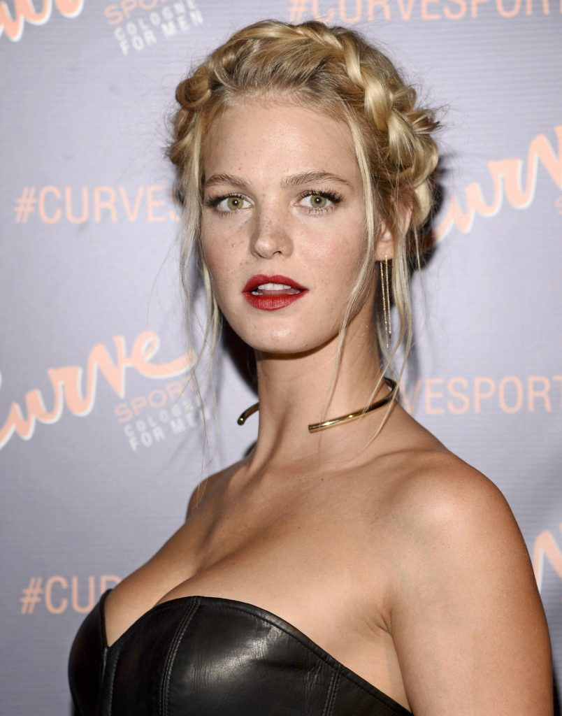 NEW YORK, NY -JANUARY 12,2015: Supermodel Erin Heatherton Pictured at the 'Get your Game On 'to unveil the newest fragrance to the collection, Curve Sport,at Arthur Lounge at The Chester in New York City,© Harry Pluviose / Retna Ltd. /MediaPunch Credit: MediaPunch/face to face - Germany, Austria, Switzerland, Eastern Europe, Australia, UK, USA, Taiwan, Singapore, China, Malaysia, Thailand, Sweden, Estonia, Latvia and Lithuania rights only -