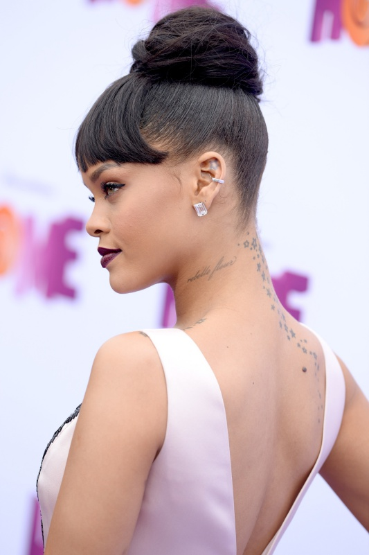 Rihanna attends the premiere of Twentieth Century Fox and Dreamworks Animation's 'HOME' at Regency Village Theatre on March 22, 2015 in Los Angeles, California. Photo by Lionel Hahn/AbacaUsa.com