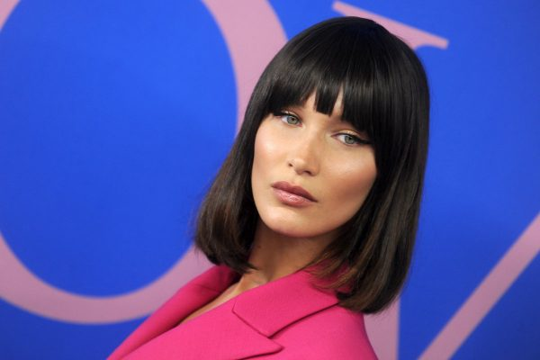 Celebrities with bangs