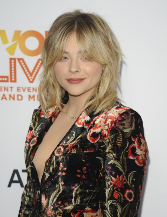 Chloe Grace Moretz attending the Trevor Project's 2016 TrevorLIVE LA held at the Beverly Hilton in Beverly Hills, Los Angeles, CA, USA, on Sunday, December 4, 2016. Photo by Apega/ABACAPRESS.COM