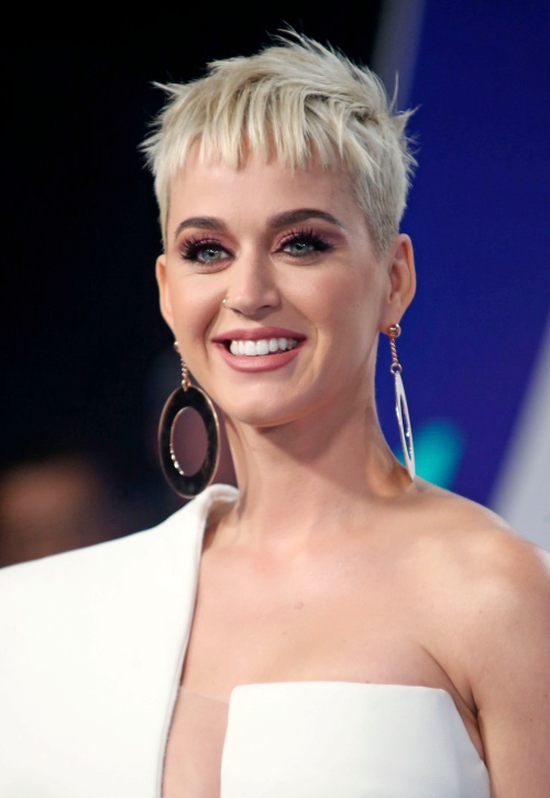 INGLEWOOD, CA - August 27: Katy Perry, At 2017 MTV Video Music Awards At The Forum in Inglewood In California on August 27, 2017. Credit: FS/MediaPunch Credit: MediaPunch/face to face
