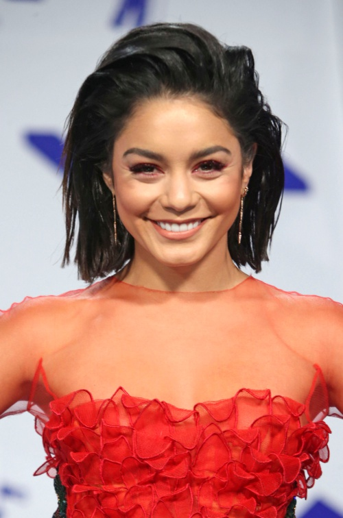 INGLEWOOD, CA - August 27: Vanessa Hudgens, At 2017 MTV Video Music Awards At The Forum in Inglewood In California on August 27, 2017. Credit: FS/MediaPunch Credit: MediaPunch/face to face
