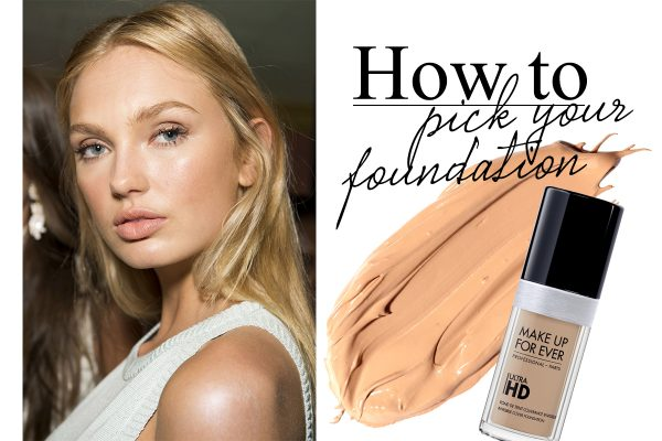 how to pick your foundation