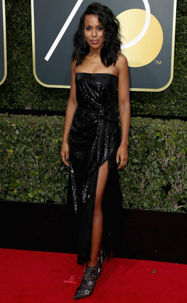 Kerry Washington Globurile de Aur 2018