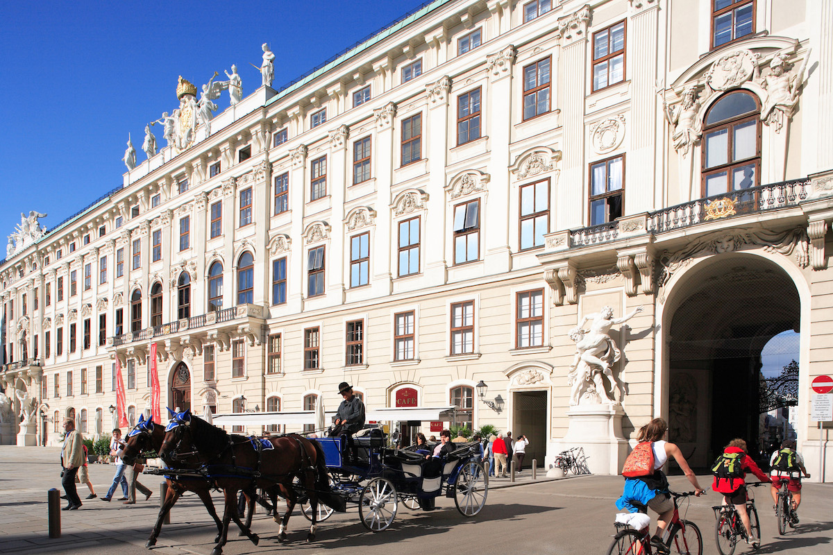 Austria, Vienna, Horse & Carriage