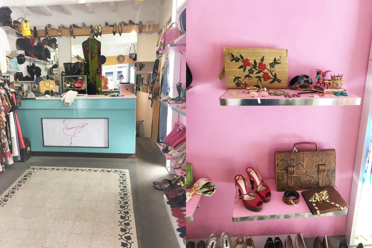 flamingo vintageshop