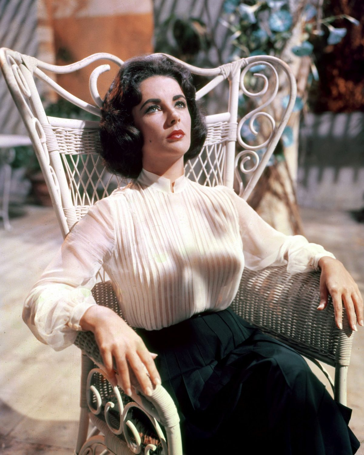 Elizabeth Taylor, în Suddenly Last Summer, 1959