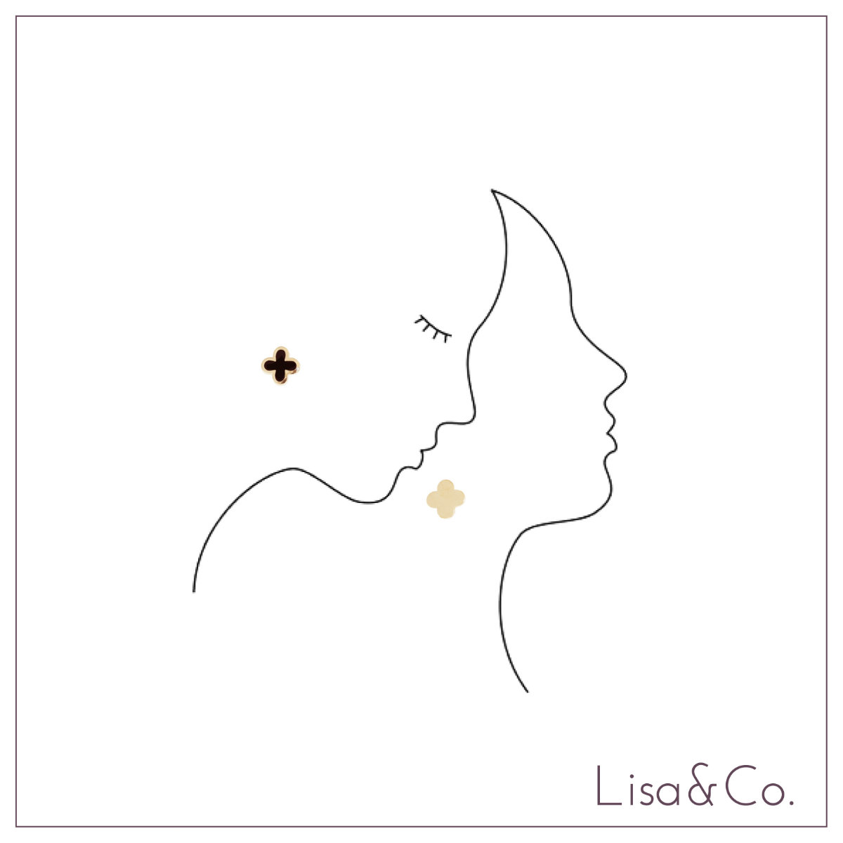 lisa co sketch earring