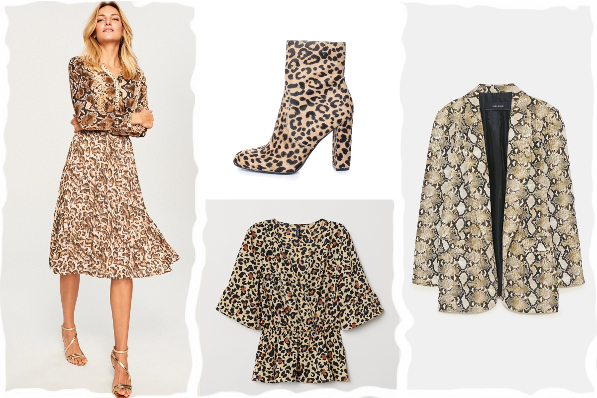 animal print deschidere