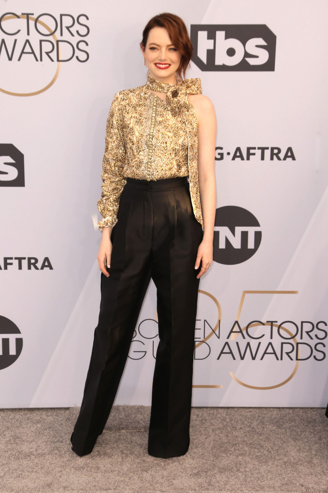 Emma Stone – outfit Louis Vuitton