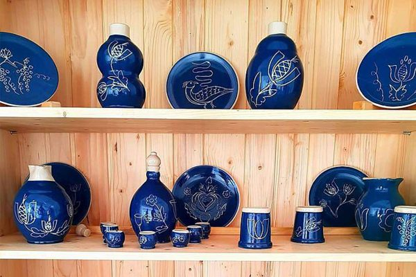 ceramica saschiz fragonard