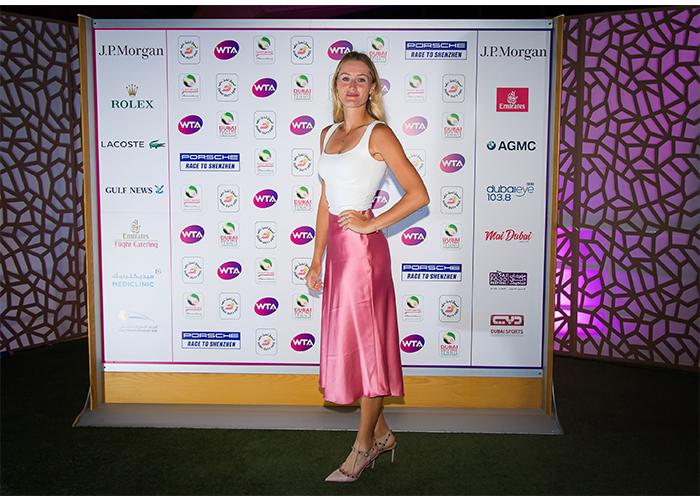 Kristina Mladenovic dubai