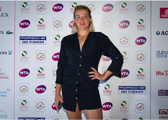 Anastasia Pavlyuchenkova dubai