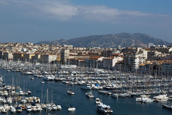 The Old Harbor, Marseille, Bouches du Rhone, France