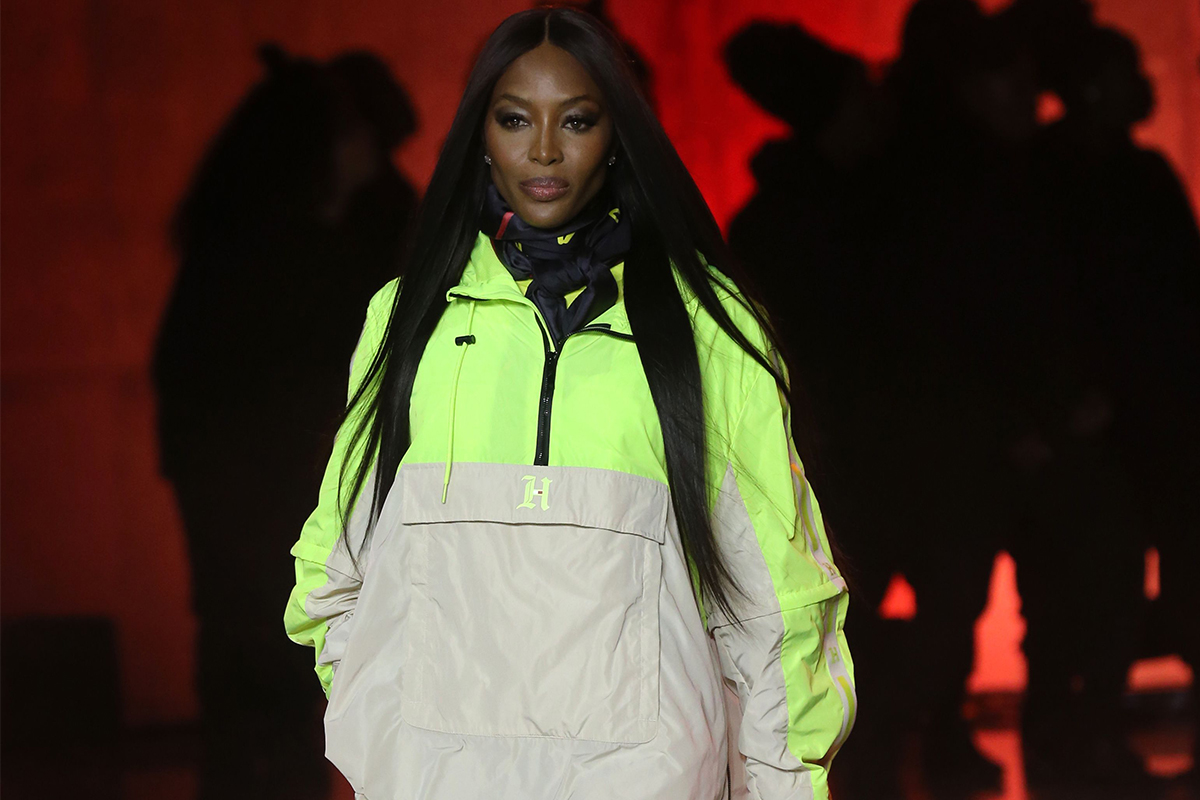 naomi campbell tommy hilfiger