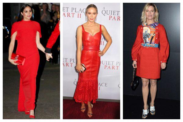 Item of the week- Rochia roșie sau Lady in red in tendințe pentru totdeauna