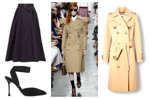 Shopping- Reinterpretarea trench coat -ului clasic -