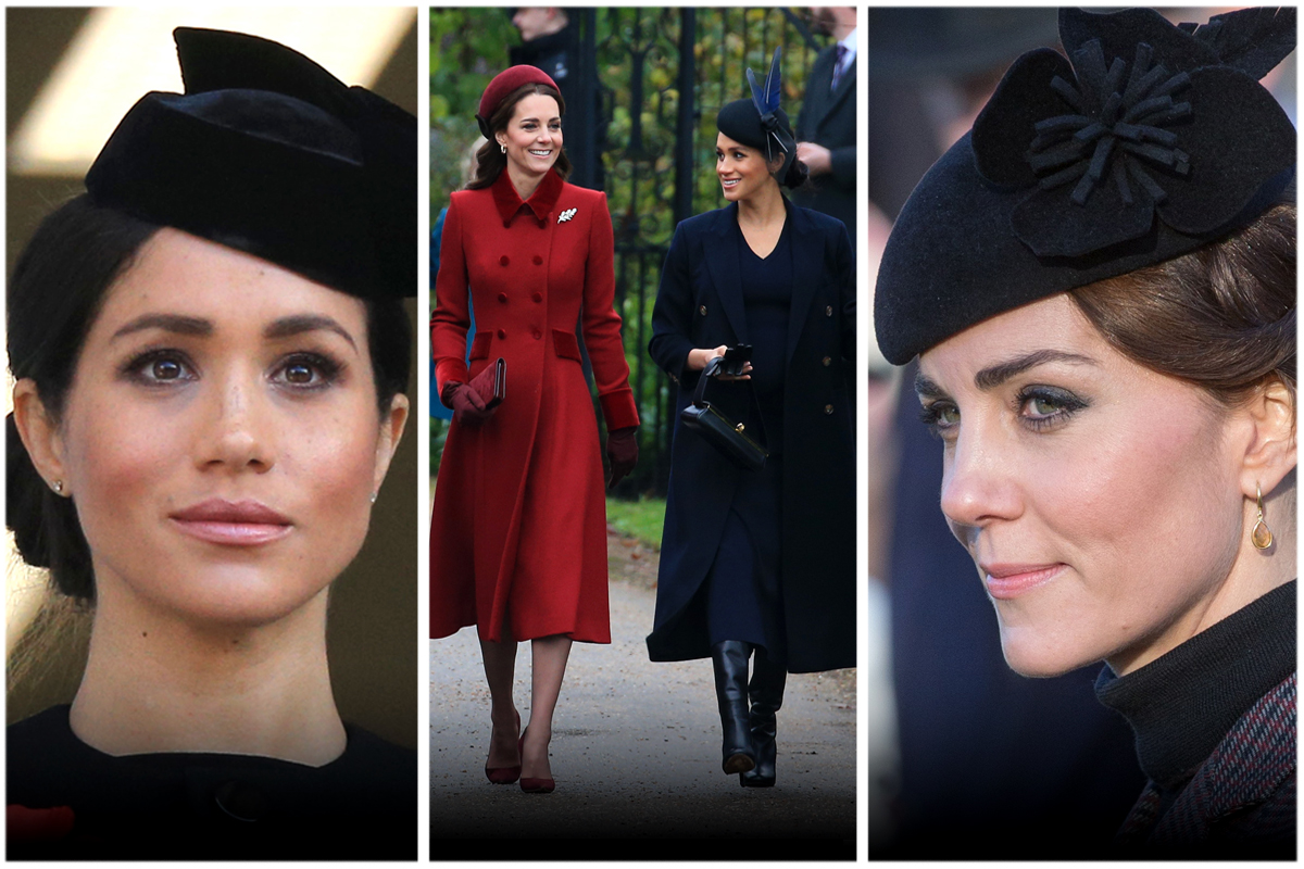 kate middleton meghan markle stil