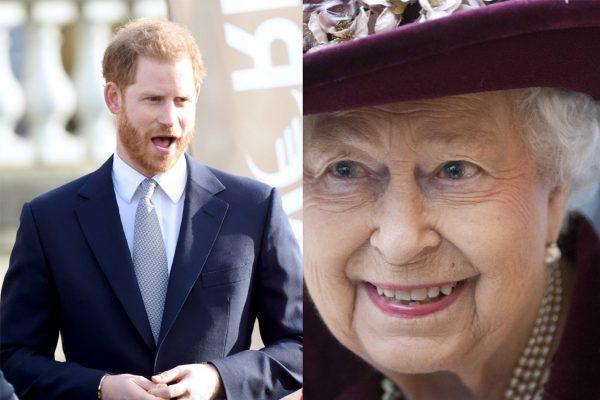 printul harry regina elizabeta