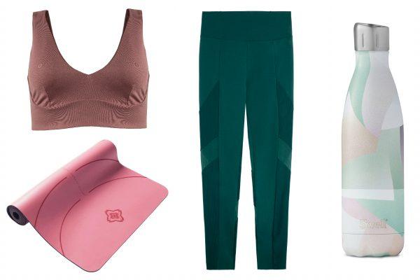 Fashion de acasă- Ținute pentru sport în sufragerie -yoga