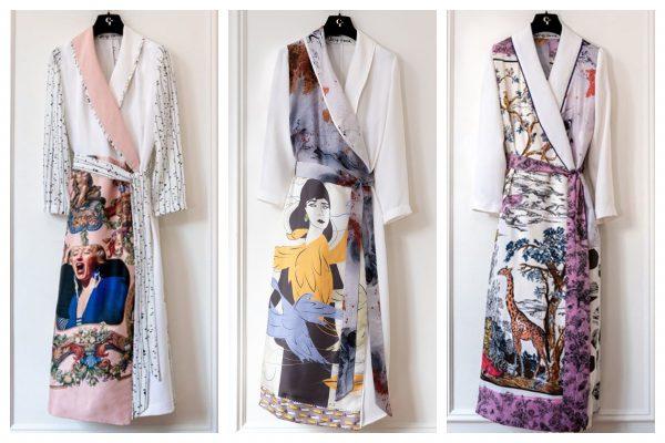 Fashion de acasă - Halatele de lux create din resturi  - Christy Rilling