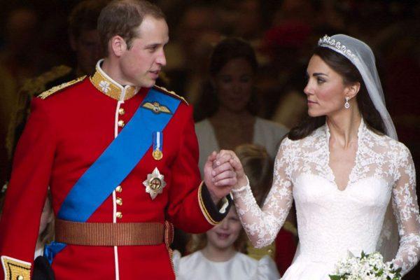 Kate Middleton și Prințul William căsătorie