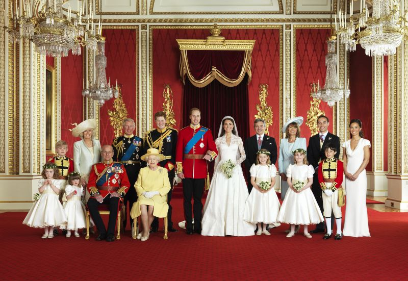 Kate Middleton și Prințul William nunta