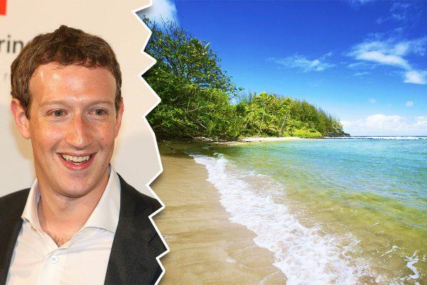 mark zuckerberg hawaii