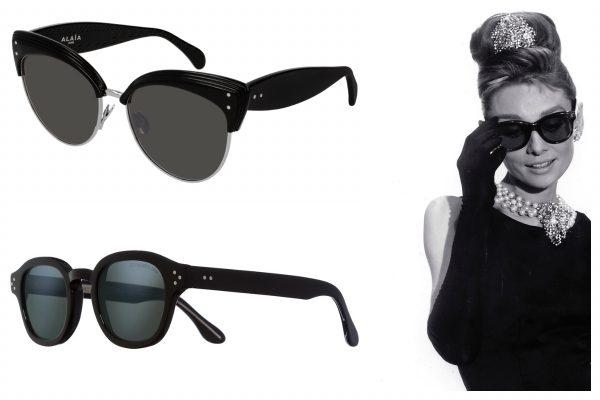 Ochelarii de soare cu rame negre- La fel de iconici ca LBD, în tendințele verii