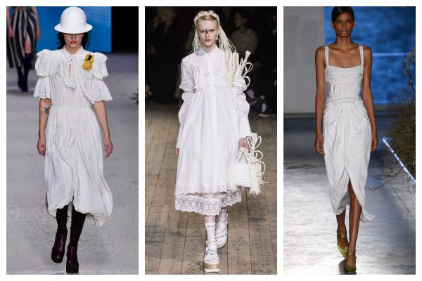 Rochia albă în tendințele romantice ale verii. 3 idei de styling
