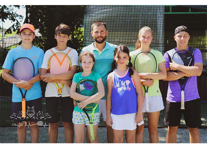 cristi banica tenis copii