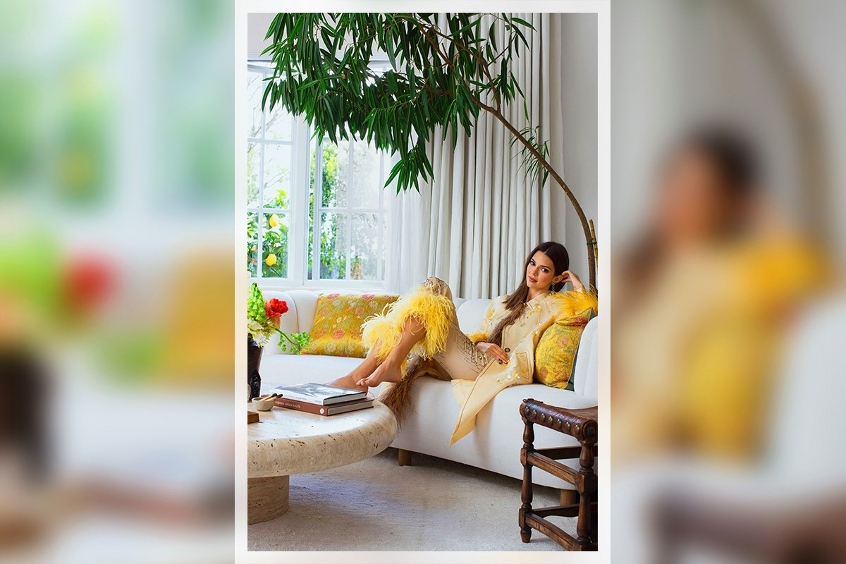 kendall jenner architectural digest