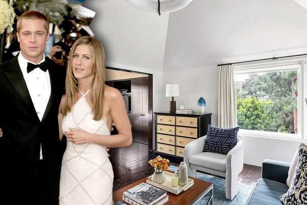 jennifer aniston brad pitt casa