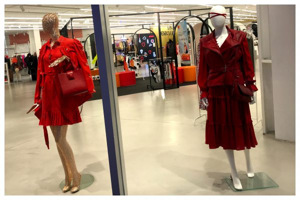 A list Designers boutique- Fashion editor's choice - Ladies in Red