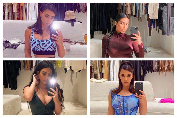 Garderoba lui Kim Kardashian - De ce este cel mai bun loc pentru poze?