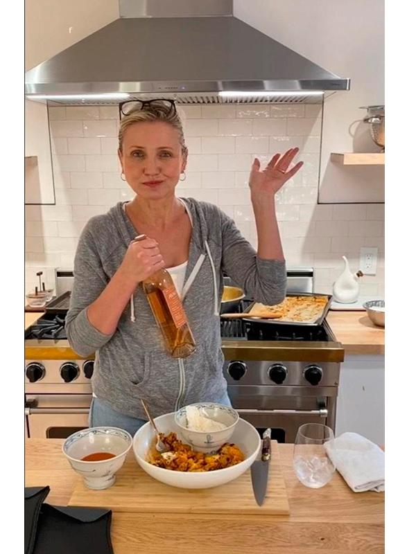 cameron diaz cooking