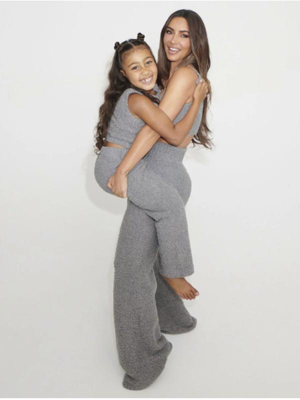Kim Kardashian West's Cozy Kids SKIMS