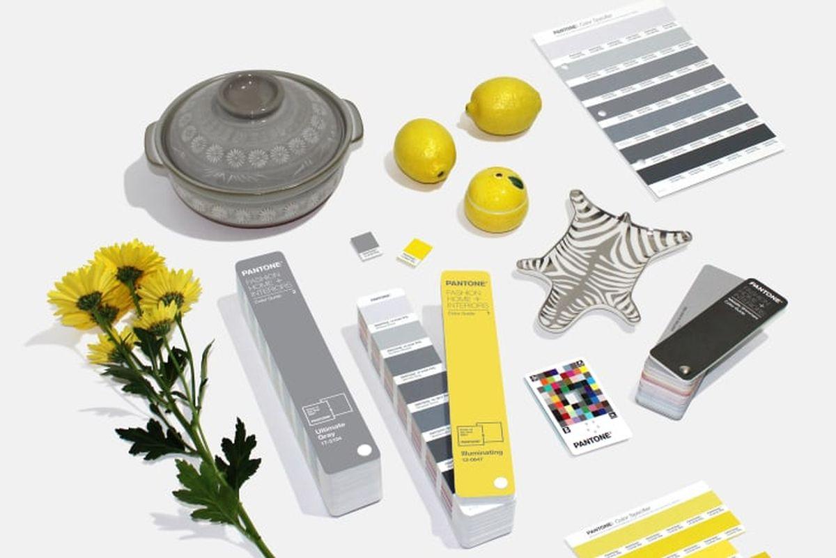 culori pantone illuminating ultimate gray
