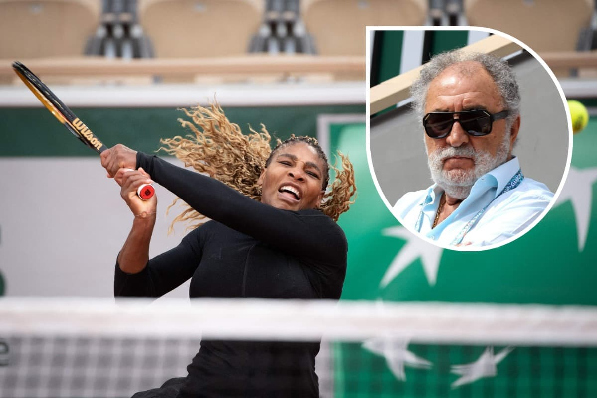 serena williams ion tiriac